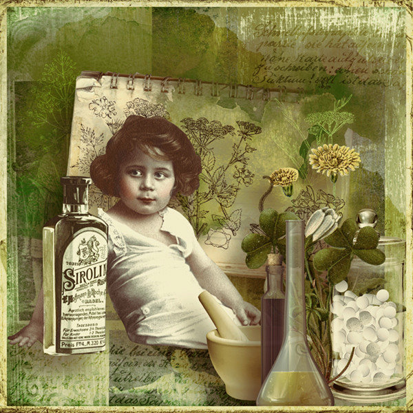 homeopathy scrapbooking